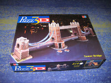 MB PUZZ 3D Tower Bridge 3D Puzzle !!! Top selten 819 Teile