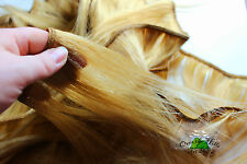 Human Hair Rooting Reborn Babies Toddlers Straight 100g Blonde Gold NOT Mohair