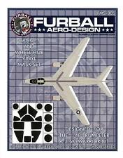 Furball Decals 1/48 DOUGLAS A-3 SKYWARRIOR Canopy & Wheel Hub Vinyl Mask Set