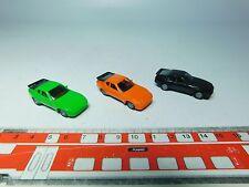 AF153-0,5# 3x Herpa H0 PKW/ Sportwagen-Modelle Porsche 944 sehr gut