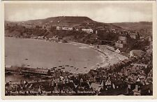 South Bay & Oliver's Mount From The Castle, SCARBOROUGH, Yorkshire