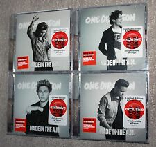 ONE DIRECTION Made In The A.M. CD Set ALL 4 Target Covers HARRY NIALL LIAM LOUIS