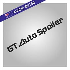 BLACK GT Autospoiler Sticker Decal for R31 Skyline HR31 GTS GTSX RB20 RB20DET