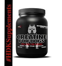 MUSCLE BULLY - CREATINE FOR DOGS 400 SERVINGS **AUTHORIZED SELLER**