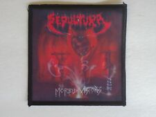 SEPULTURA MORBID VISIONS SUBLIMATED PATCH