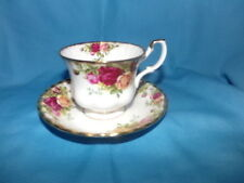 Royal Albert Bone China Old Country Roses Coffee Tea Cup & Saucer England