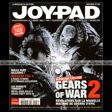 JOYPAD N°186 GEARS OF WAR 2 RESIDENT EVIL 5 METAL GEAR SOLID 4 GTA IV ROB KAY