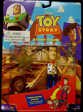 Toy Story Movie 1 Knock Down Woody Action Figure Toy Thinkway New 1995