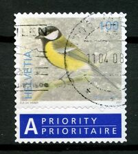 Switzerland 2006-9 SG#1673 100c Birds Definitive Used + Label #A48994