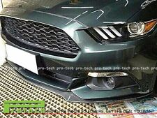 2015-2017 Ford Mustang V6 OE Style Carbon Fiber Front Bumper Chin Spoiler Lip CF