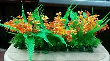 "Aquarium Artificial / Plastic Plant  for Decoration - 10"" Length 5"" Height #1871"