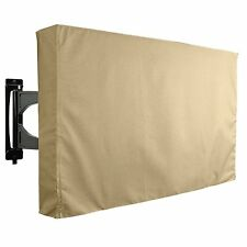 TV Cover Outdoor Beige Weatherproof Protector for 36'' - 38'' LCD LED Khomo Gear