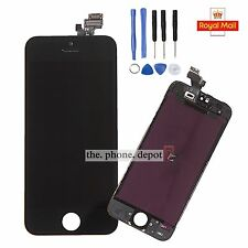 Full LCD Digitizer Display Front Glass Assembly Replacement For iPhone 5 Black