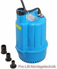 230V Tauchpumpe Schmutzwassertauchpumpe 50 Liter/min Baupumpe blau SP100J 01959