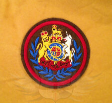 ROYAL LOGISTICS CORPS WO1 CONDUCTOR SEW ON BADGE Cdr,RLC,WARRANT OFFICER CLASS 1