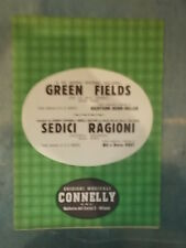 "SPARTITO ""GREEN FIELDS"" STEVENS ""SEDICI RAGIONI"""