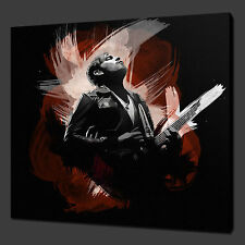 "KINGS OF LEON ANTHONY MUSIC WALL ART PICTURE CANVAS PRINT 12""x12"" FREE UK P&P"