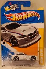 2012 Hot Wheels New Models BMW Z4 M White PR5 Wheels