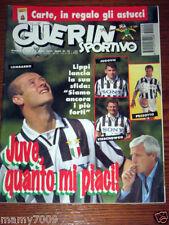 GUERIN SPORTIVO=N°29 (1055) 1995=LIPPI JUVENTUS=CAGLIARI TRAPATTONI COPPA UEFA=