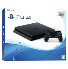 Sony PlayStation 4 Slim 500GB PS4 - Black Console Next Day Delivery- NEW /SEALED
