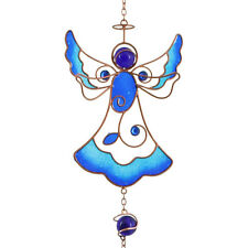 BLUE ANGEL WINDCHIME HAND CRAFTED WIND CHIME 45CM ETHICALLY SOURCED WC_11435