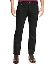 INC $40 NEW Men 1919 Black Truman Slim Fit Straight Casual Pants 34W 32L