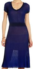 "BCBG NWT ""Biella"" Pleated Ink Party Dress New XS $268 JFN6Q873"