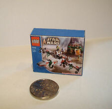 DOLLS HOUSE MINIATURE HANDMADE LEGO STAR WARS TOY BOX FOR DOLLS HOUSE/SHOP