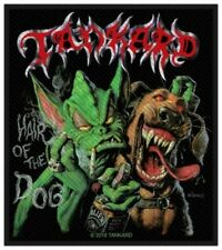 Tankard - Hair Of The Dog Aufnäher Patch Thrash Speed Heavy Metal Kutte 80s NEU