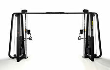 New PowerGym Fitness Commercial Cable Crossover Machine Latt Pull Down Pull Ups