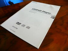 Sony DVP - S 7700 CD/DVD player  manual in English
