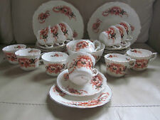 VINTAGE 12 PLACE SETTING  CHINA TEA SET