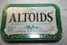 US ALTOIDS Curiously Strong Mints SPEARMINT 50g tin