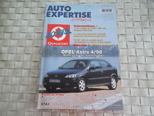 REVUE AUTO EXPERTISE CARROSSERIE OPEL ASTRA DEPUIS 4/98 ESSENCE ET DIESEL