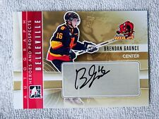 Vancouver Canucks 11/12 ITG Heroes & Prospects Brendan Gaunce Auto Card