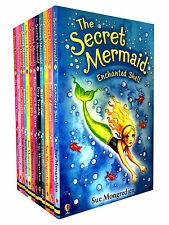 The Secret Mermaid Collection Sue Mongredien 12 Books Set - Seaside Adventure