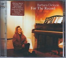 Barbara Dickson 2 CD's FOR THE RECORD