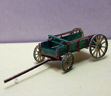 FARM WAGON (3) N Scale Model Railroad Structure Unptd Wood Laser Kit RSL3501