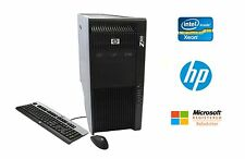 HP Z800 Workstation Intel Xeon 12 Core 2.66GHz 32GB RAM 2TB HD NVIDIA Win 10 Pro