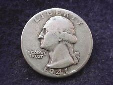 1941-D WASHINGTON QUARTER NICE COIN!!  # 240