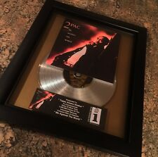 Tupac Shakur 2Pac Platinum Record Disc Album Music Award MTV Grammy RIAA