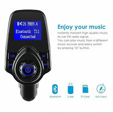 Bluetooth 3.0 Car MP3 Player FM Transmitter Wireless Radio Adapter USB Charger