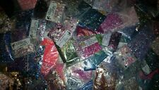 Glitter Mixes Grab Bag for nail art plus Free Gift! *1tsp*25 raw mixes*!
