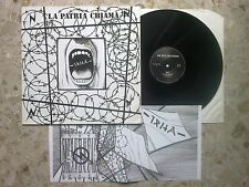 IRHA - LA PATRIA CHIAMA - LP 1987 ITALY hc reggae GER press WE BITE irah impact