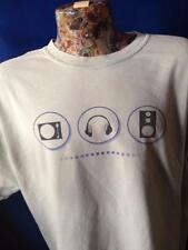 Vintage PSSL ProSound And Stage Lighting Headphones Turn Table Pro Shirt XL
