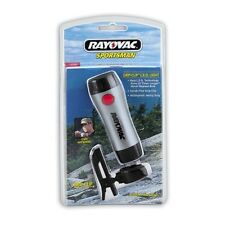 NEW Rayovac GRIP-CLIP Compact Waterproof LED Flashlight, Bright White LED Bulb