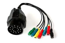 Super KTS 20Pin BMW OBD BreakOut-Cable 7 bananas sockets compatible to Bosch KTS