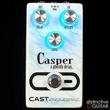 NEW CAST ENGINEERING CASPER DELAY GUITAR EFFECTS PEDAL -  VINTAGE ANALOG TONES!