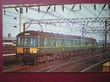 POSTCARD DERBY 2 CAR DIESEL MULTIPLE UNIT AT MANCHESTER PICCADILLY