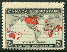 CANADA #85 Fine Never Hinged Issue - Canadian Map - S7973